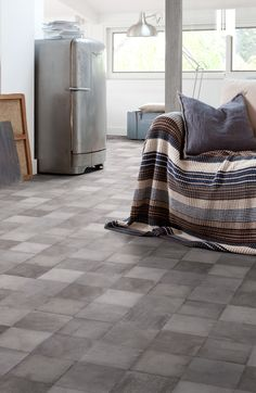 Discover our floor coverings for the home : vinyl tiles and planks with Virtuo and Senso ; vinyl rolls with Texline, Home Comfort and HQR ; laminate with Topsilence. Vinyl Flooring Rolls, Vinyl Plank Flooring, Vinyl Tiles, Home Comforts, Adhesive Vinyl, Decoration, Home Remodeling, New Homes, Design