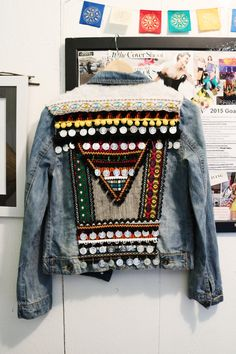 DIY | Bohemian Jacket Earlier this year I... | Fancy Made