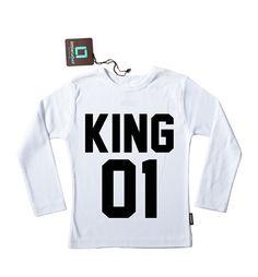 KING # strijkplaatje # strijkapplicatie #koningsdag #koningsdagshirt #koning #koningsshirt