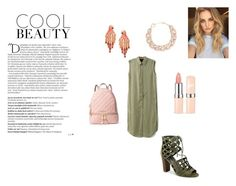 """""""Jungle beauty"""" by emilygracefashionista on Polyvore featuring G by Guess, Balmain, MICHAEL Michael Kors, DIANA BROUSSARD and Kate Spade"""