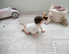 The most beautiful and stylish foam play mats. www.little-nomad.com
