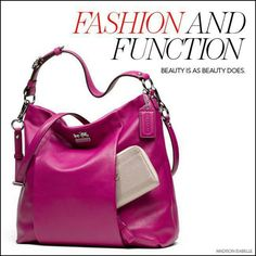In love with Coach Breast Cancer bag...