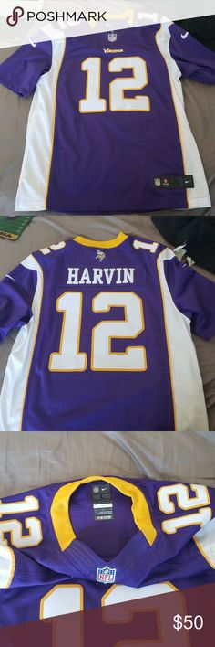 Authentic Minnesota Viking  12 Percy Harvin Jersey Brand new stitched  12 Viking  Jersey. 9bf515850