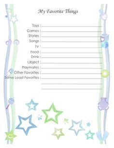 printable baby book template pages