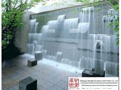 Awesome Outdoor Wall Fountains Ideas Wall-Fountains Bring Tranquility to a Small Garden Outdoor wall fountains. Wall-fountains run the gamut from classical Greek figures and wall mounted gargoyles … Modern Outdoor Fountains, Indoor Wall Fountains, Stone Fountains, Water Fountains, Small Fountains, Water Wall Fountain, Water Fountain Design, Fountain Ideas, Fountain Garden