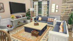 One Bedroom House, Sims 4 Bedroom, House Rooms, Bedrooms, Sims 4 House Plans, Sims 4 House Building, Sims 3 Living Room, Sims 4 Restaurant, Sims 4 House Design
