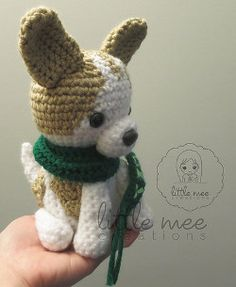 Amigurumi Chihuahua Dog - FREE Crochet Pattern / Tutorial
