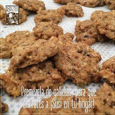 ¡Hornea tus propias galletas!  #SusiPanaderíaArtesanal te trae la mezcla ideal para preparar galletas crocantes, saludables y deliciosas.  Encuéntralas en nuestro almacén del Mall Ventura cra 32 # 1B sur 51 Medellín.