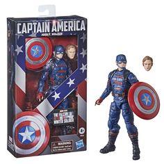 Hasbro Marvel Legends, Marvel Legends Series, Ms Marvel, Marvel Comics, Winter Soldier, Captain America, John Walker, Toy Cars For Kids, Walmart
