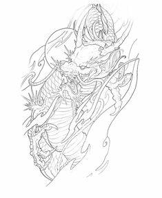 Dragon Tattoo Colour, Asian Dragon Tattoo, Japanese Dragon Tattoos, Dragon Tattoo Designs, Japanese Back Tattoo, Japanese Tattoo Designs, Tatoo Art, Body Art Tattoos, Art Vampire