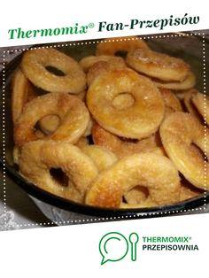 Półfrancuskie kółeczka - ciasteczka jest to przepis stworzony przez użytkownika ilonaw. Ten przepis na Thermomix<sup>®</sup> znajdziesz w kategorii Desery na www.przepisownia.pl, społeczności Thermomix<sup>®</sup>. Onion Rings, Sweet Tooth, Cooking, Ethnic Recipes, Cakes, Kitchen, Thermomix, Cake Makers, Kuchen