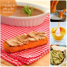 Aperitivos fáciles, ¡12 dips deliciosos! ¡Os traemos 12 recetas de dips y patés riquísimos! De pollo, de aceitunas, de zanahoria, de cebollas... 12 opciones para aperitivos fáciles que os sorprenderán.