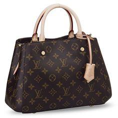 Louis Vuitton Montaigne BB Monogram Handbag