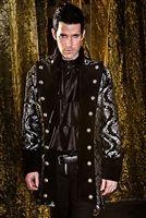 Versailles Coat - Silver Tapestry #goth #gothic #punk #punkrock #rockabilly #psychobilly #pinup #inked #alternative #alternativefashion #fashion #altstyle #altfashion #clothing #clothes #vintage #noir #infectiousthreads #horrorpunk #horror #steampunk #zombies #burningmanclothing #shrine clothing