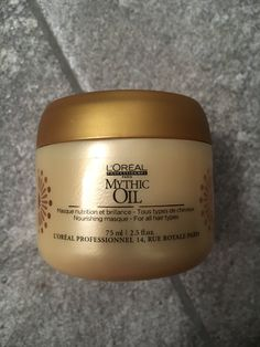 Loreal mythic oil hair masque. Generous size sample