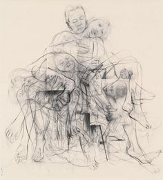 "Jenny Saville ""Chapter (for Linda Nochlin)"" ​Jenny Saville is THE most expensive living female artist, but thanks to a… Life Drawing, Painting & Drawing, Gagosian Gallery, A Level Art, Artist Portfolio, Meet The Artist, Museum Exhibition, Old Art, Art History"