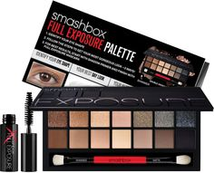 Full Exposure Palette by Smashbox a set of universally awesome neutrals, including how-to's for 6 eye shapes..