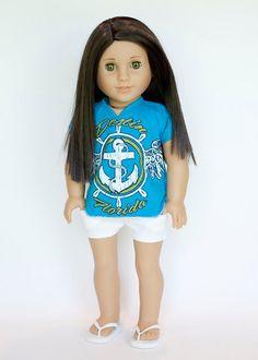 American Girl doll upcycled Destin Florida by EverydayDollwear