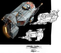 The remastered editions of the two main Homeworld games are out today, introducing a whole new generation to one of the greatest series in modern video games. So there's no better time to appreciate one of the things people love most about them: artist Rob Cunningham's work designing Homeworld's iconic ships.