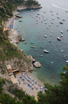 Marina di Conca e spiaggia della Vite, Italy