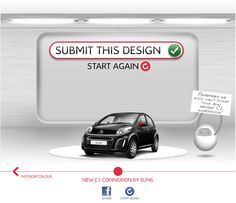 Citroën has set out to create UK's first ever crowdsourced car. Via a Facebook app, Citroën fans can now design a special edition of the C1 Connexion, the company's new city car.