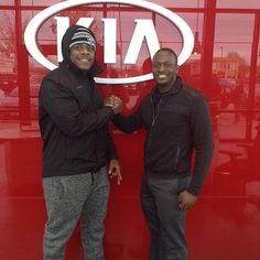 Congrats to Darrius for making the short drive from OttawaKS to purchase his brand new 2016 Kia Forte from Nick!Georgia Native helping a fellow Georgia Native!!