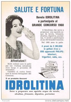 vecchie pubblicita - Cerca con Google