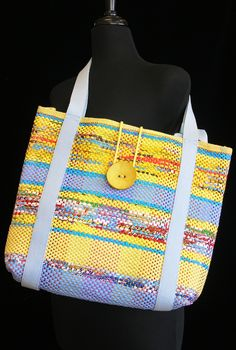 Handwoven bag by Ann Masemore. Photo by Aimee Radman.