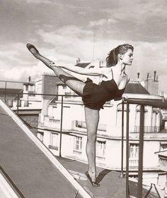 Brigitte Bardot - studied ballet for 11 years, including at the Conservatoire National de Paris, France