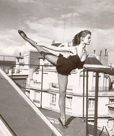 Brigitte Bardot - studied ballet for 11 years, including at the Conservatoire National de Paris, France