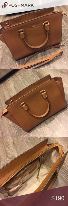 Michael Kors handbag 💯 % authentic Michael Kors handbag. Just used one time. It's like brand new! Michael Kors Bags Totes