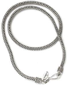 Samuel B. Silver 18inch  Necklace