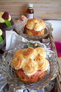 Orangen-Cheesecake mit Baiser