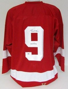 8cee27852 Gordie Howe Autographed Detroit Red Wings M amp N Jersey Mr. Hockey PSA .   599.00