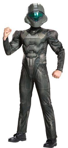 Costumes! Halo Nation Spartan Edward Buck Costume Set Child Thru Teen Sizes #DG #MuscleCheastCostume