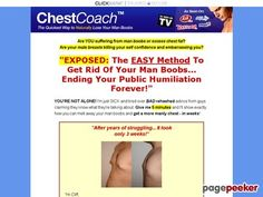 Lose man boobs with Cliff Manchaster's Chest Coach System