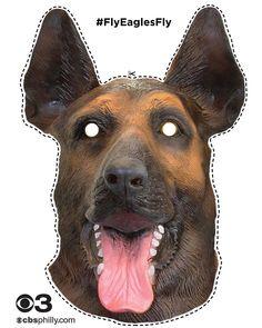 dog mask cutout Jason Kelce  Take Off Dog Masks When Defense Is On Field 847bdfd819c9