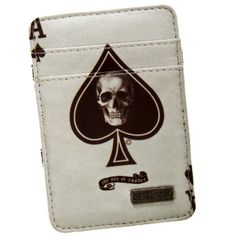 CLASSICS77 Wasted Time Trick Wallet Money Clip, Wallet, Collection, Purses