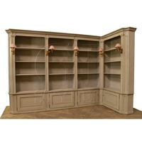 Leroy Corner Bookcase Right-Click for Larger Picture