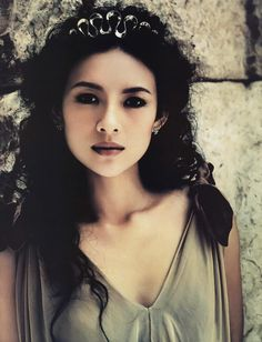 Ziyi Zhang. Famous Chinese actress. Starred in brilliant movies like The House of Flying Daggers and Memoirs of a Geisha.