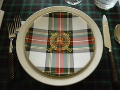 A Toile Tale: National Tartan Day 2012