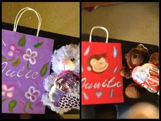 Personalized Valentines bags