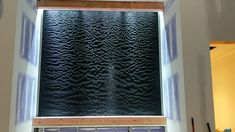 indoor water fountains videos Ripple/Wave Water wall located in Michigan Modern Water Feature, Diy Water Feature, Backyard Water Feature, Indoor Wall Fountains, Indoor Fountain, Water Fountains, Indoor Water Features, Water Features In The Garden, Indoor Waterfall Wall