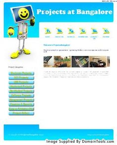 projectsatbangalore.com printscreen