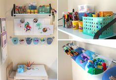 11 CREATIVE ARTS AND CRAFT SPACES FOR KIDS