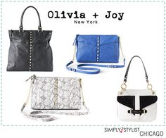 Love olivia + joy handbags! Excited to have them participating in SS Chicago
