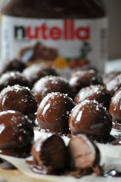 Nutella Buckeyes give traditional buckeyes a yummy spin with the addition of Nutella. An easy, no-bake holiday cookie with simple ingredients.