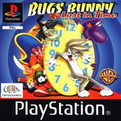 Bugs Bunny Lost In Time PAL for Sony Playstation/PS1/PSX from Infogrames (SLES 01726). 1999 3D platform game that got a rating of 7.8/10 on the IGN website. Complete in case. Disc is in excellent condition. Tested and working. £15.00