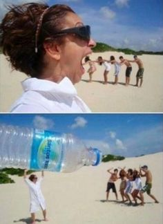 14 Optical Illusions That Are Even Funnier at the Beach - Woman's World