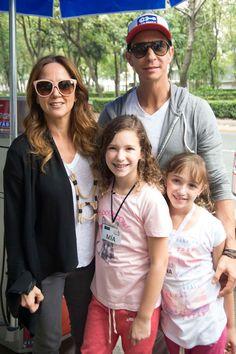 Mía y Nina, hijas de Andrea Legarreta, ¡también actuarán en el cine!